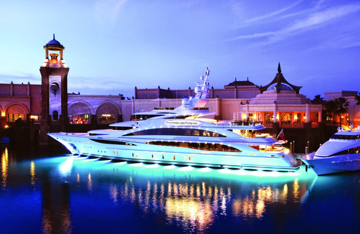 The Most Beautiful Yachts Around World