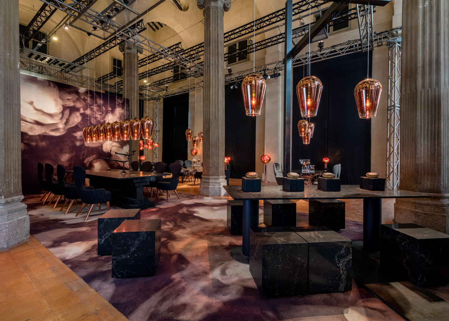 Find the Restaurant by Tom Dixon and Caesarstone