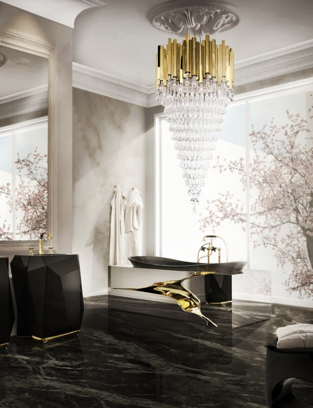 The best lighting for the most luxurious bathrooms aloadofball Gallery