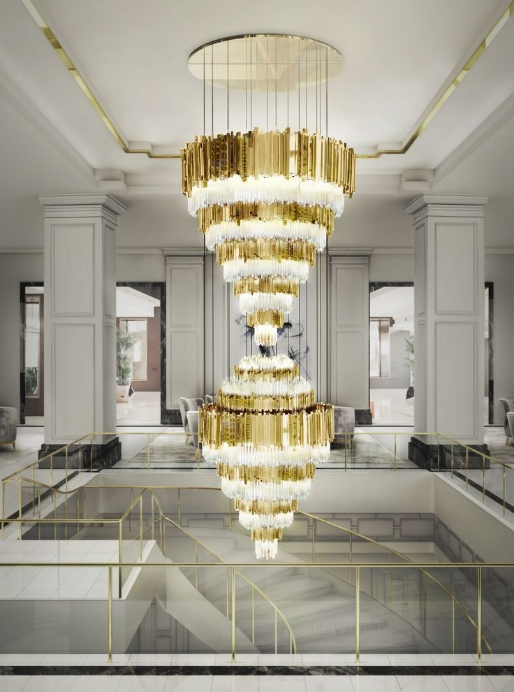 Empire XL lighting designs Breaking the rules: extravagant lighting designs for your classic home Empire XL 1