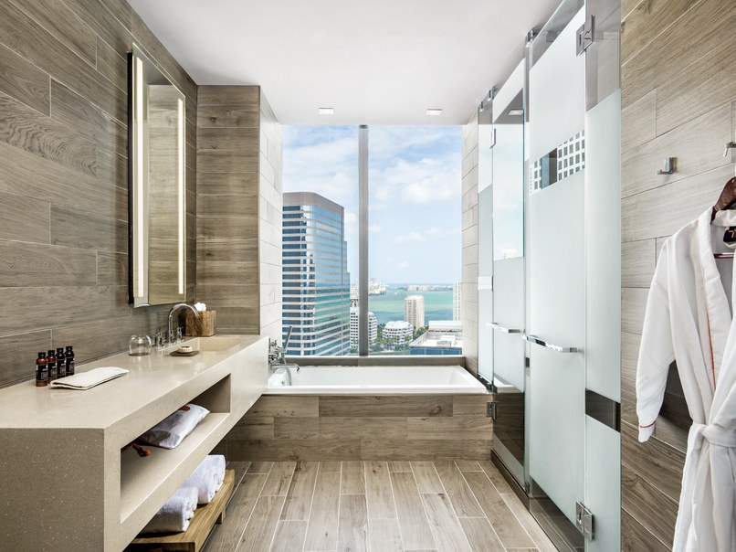 Take a first look at the new Luxury Hotel Complex in Miami bathroom Luxury Hotel Take a first look at the new Luxury Hotel Complex in Miami Take a first look at the new Luxury Hotel Complex in Miami bathroom