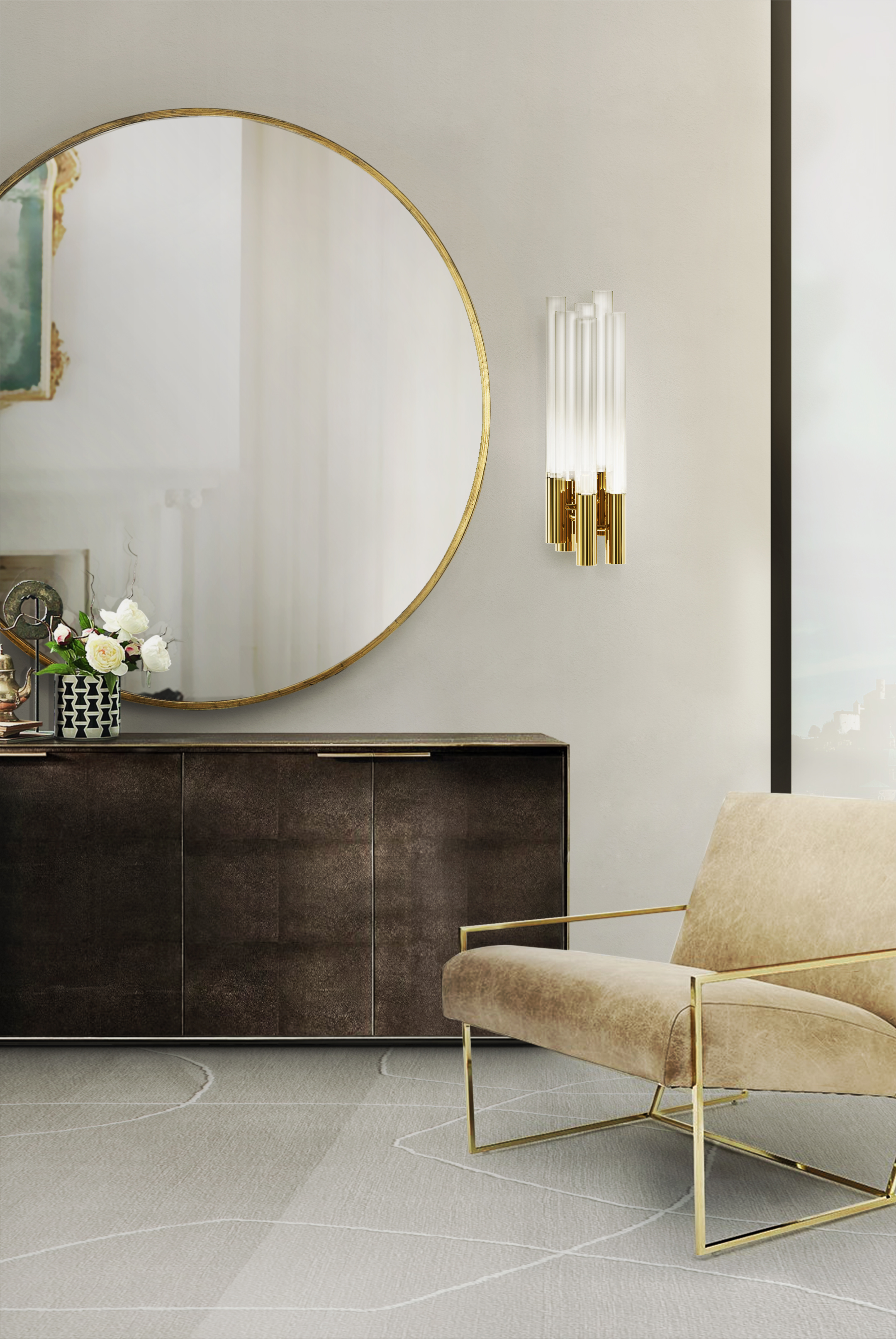 burj Wall ambiente wall lamp Create a glamorous decor with Luxxu's wall lamps burj Wall ambiente