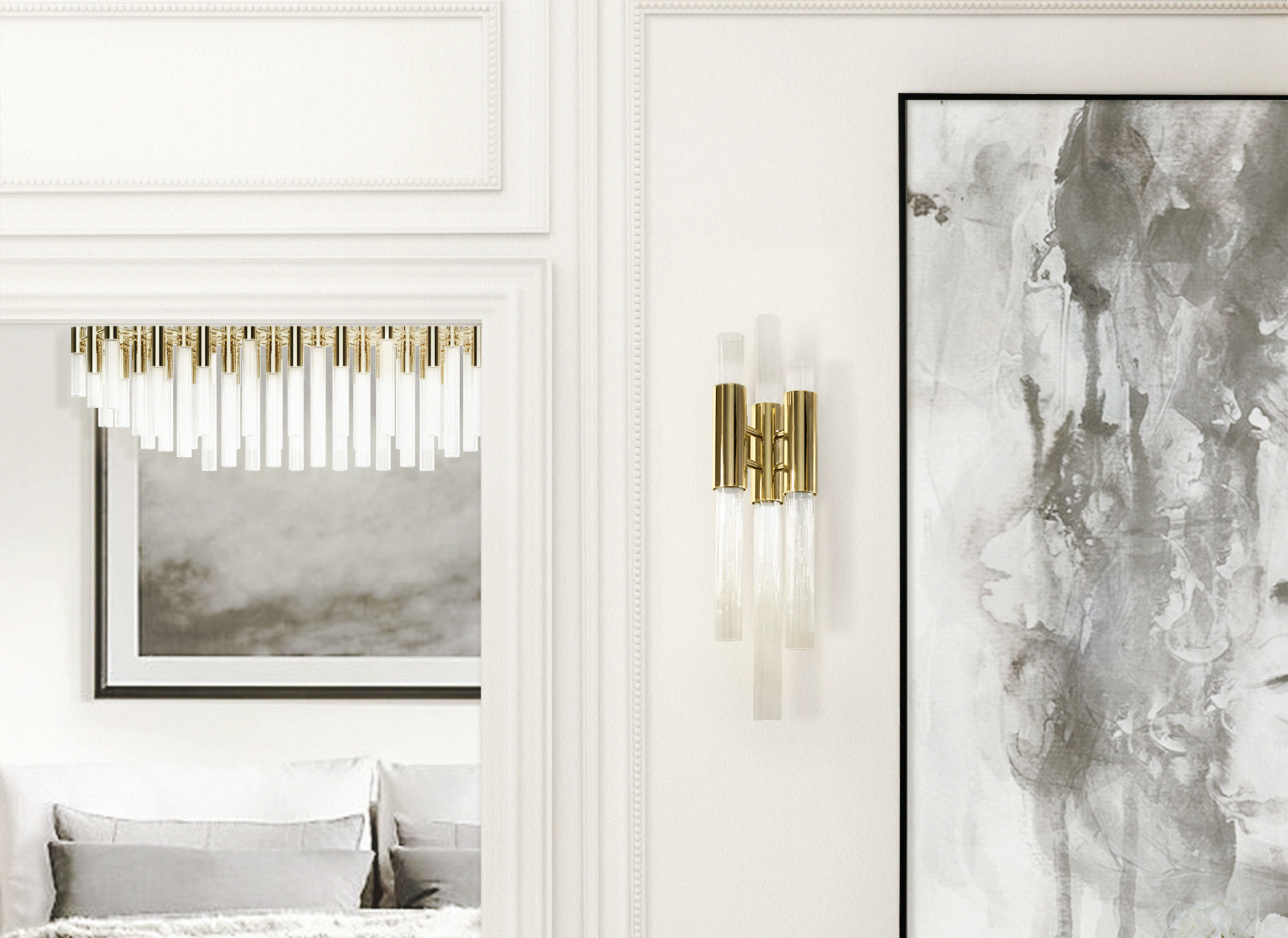Create a glamorous decor with Luxxu's wall lamps
