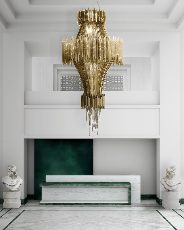 5 Gold chandeliers with crystals to light up your world Gold chandeliers 5 Gold chandeliers with crystals to light up your world scala blog