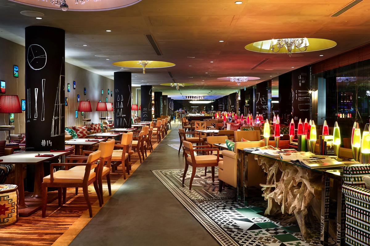 M Social Design Hotel by Philippe Starck