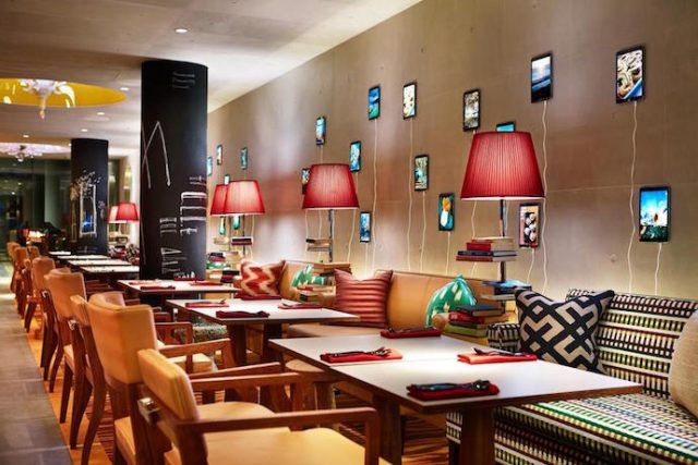 M Social Design Hotel by Philippe Starck restaurant Philippe Starck M Social Design Hotel by Philippe Starck M Social Design Hotel by Philippe Starck restaurant e1468917173748