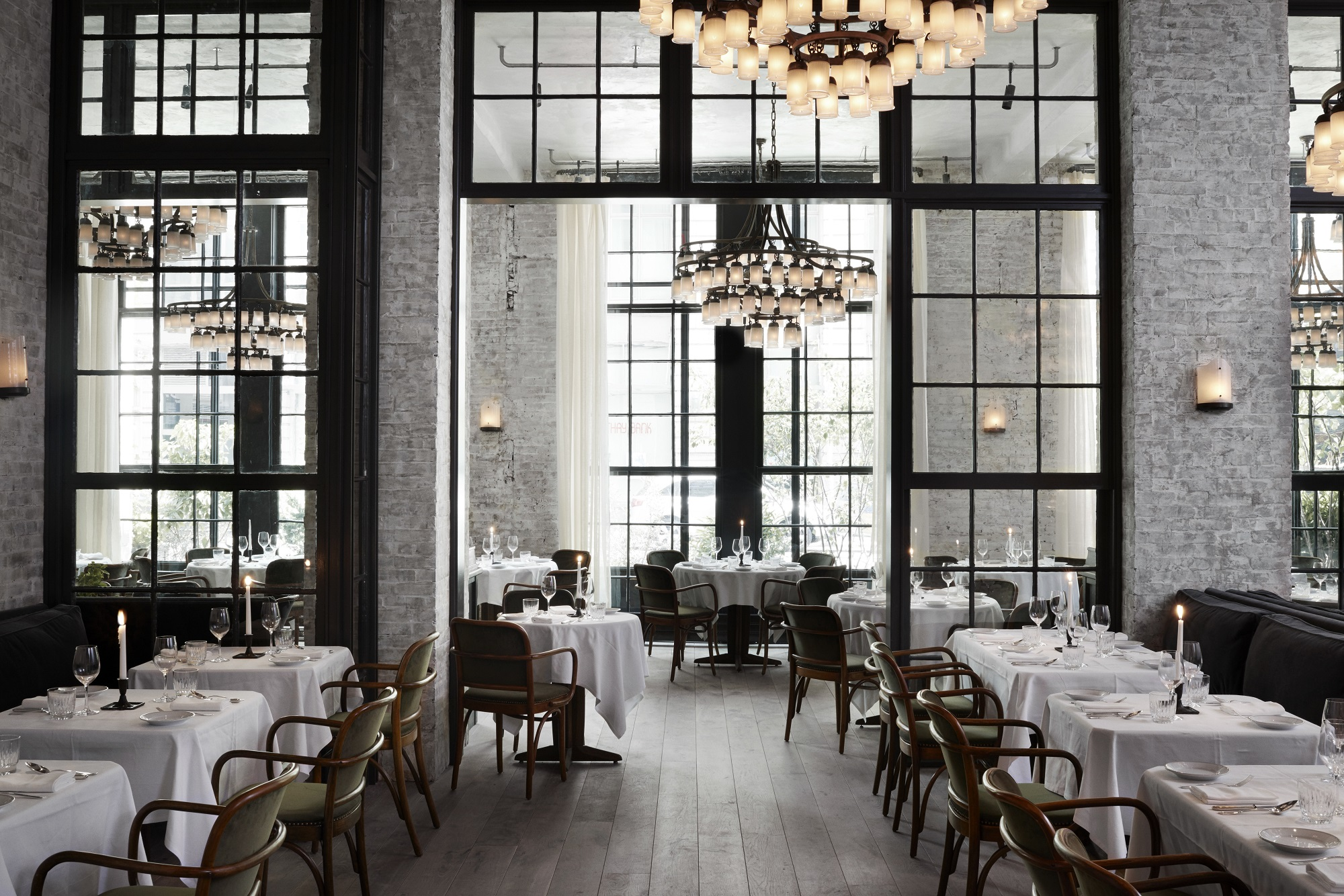 Take a look at Roman & Williams – Designed Le Coucou Restaurant