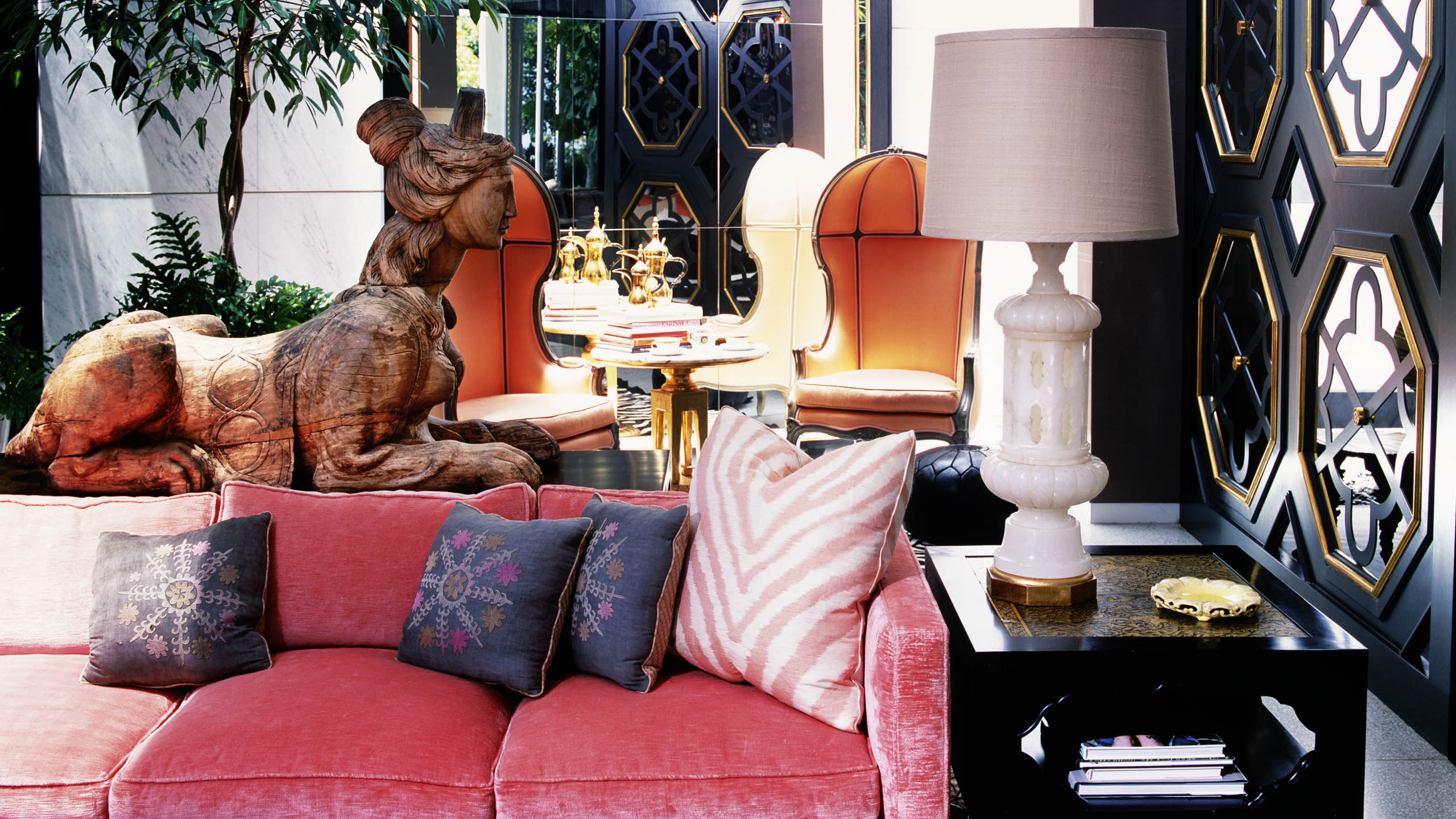 Doheny Residence Kelly Wearstler  interior designers Best Interior Designers: top projects by Kelly Wearstler Doheny Residence Kelly Wearstler 1