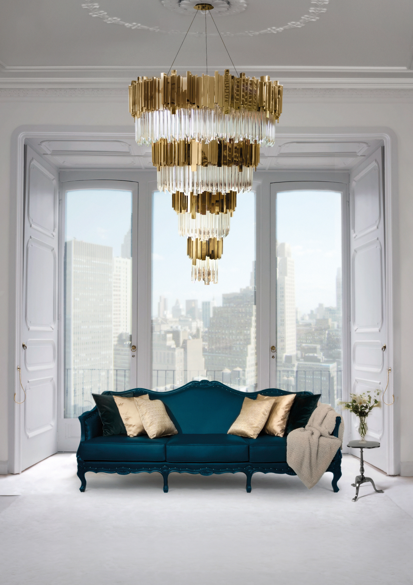 Empire Chandelier Luxury Interiors luxury interiors The Empire Family: brighten up your luxury interiors Empire Chandelier Luxury Interiors