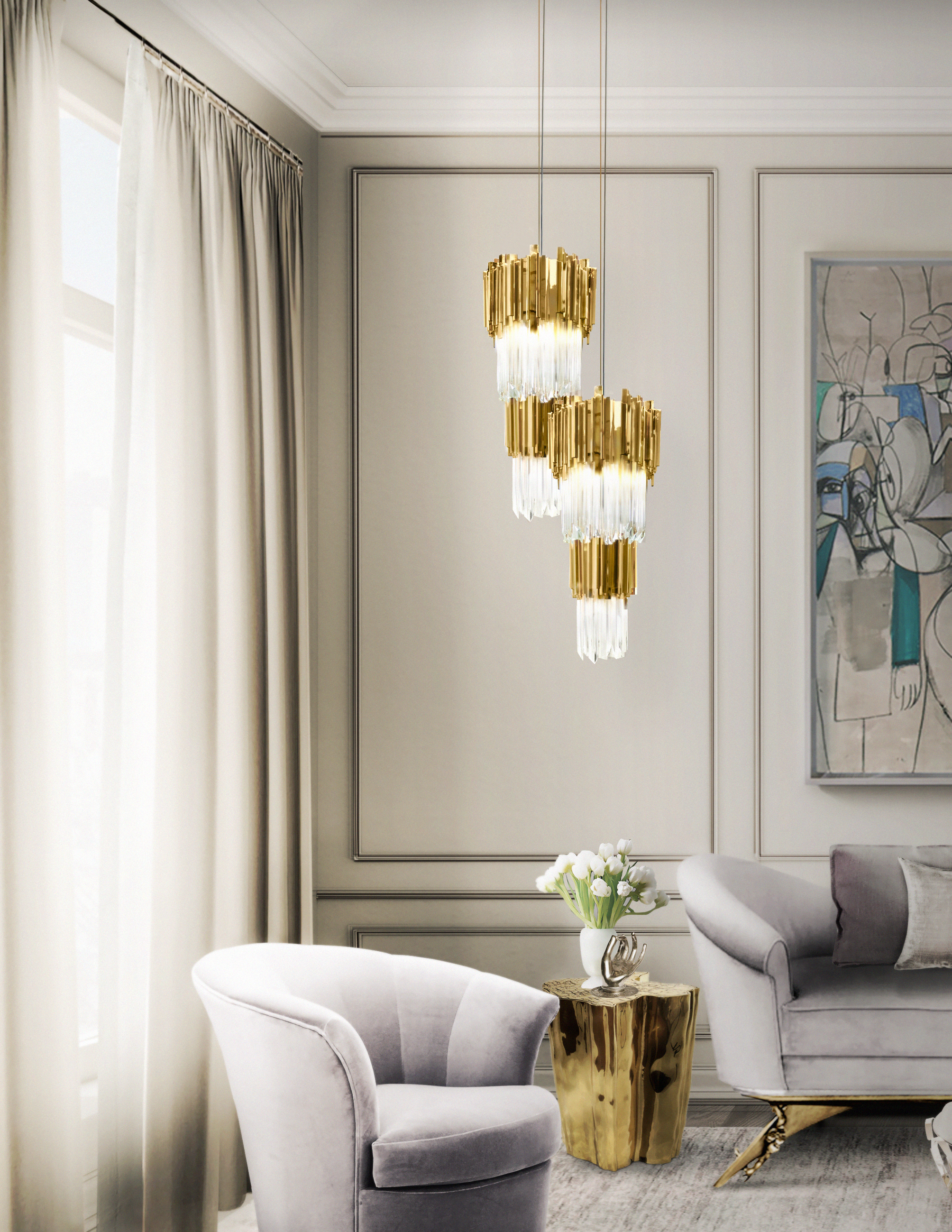 Empire Pendant Luxury Interiors luxury interiors The Empire Family: brighten up your luxury interiors Empire Pendant Luxury Interiors