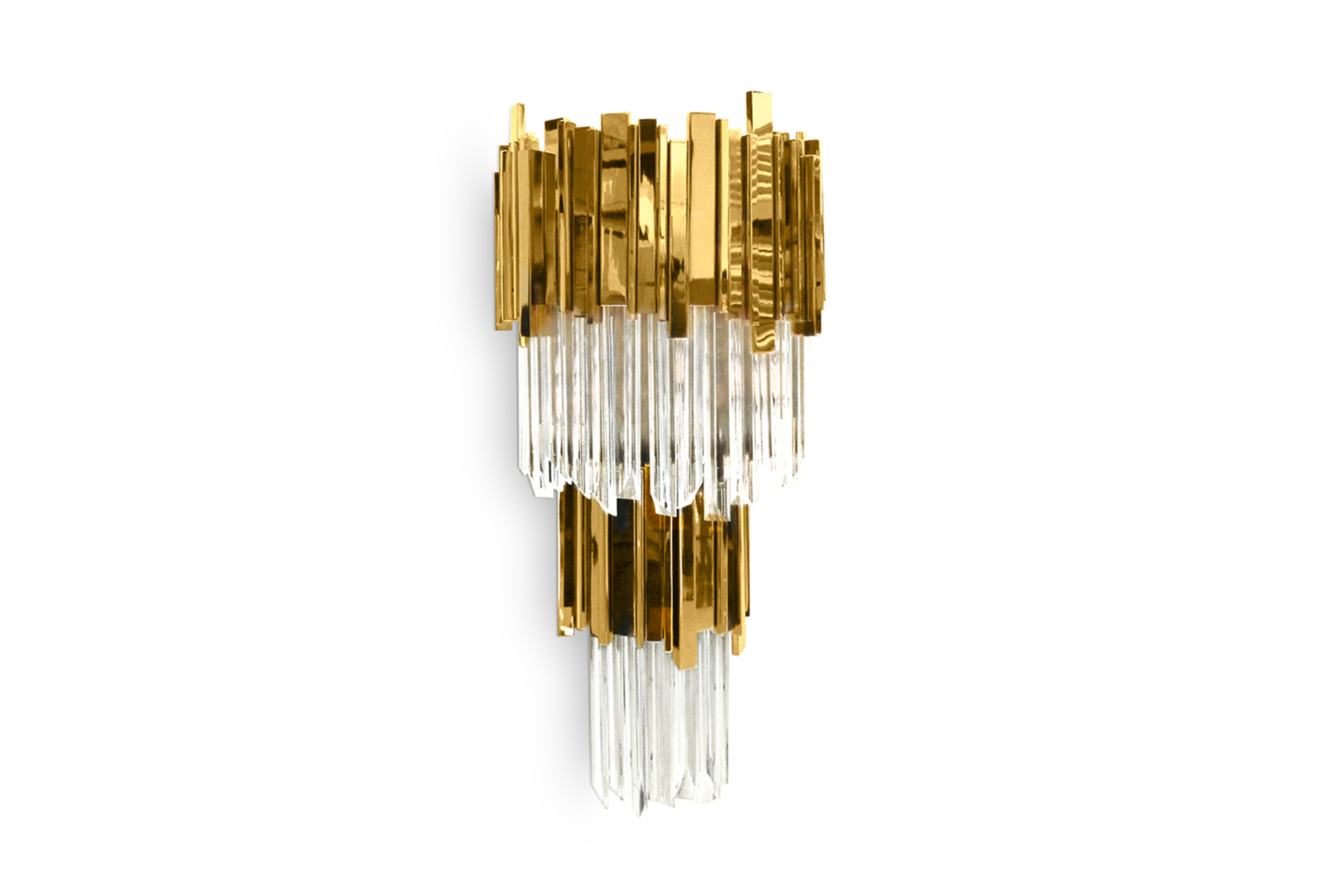 Empire Wall Lamp wall lights Luxury design: wall lights by Luxxu to create a glamorous decor Empire Wall Lamp