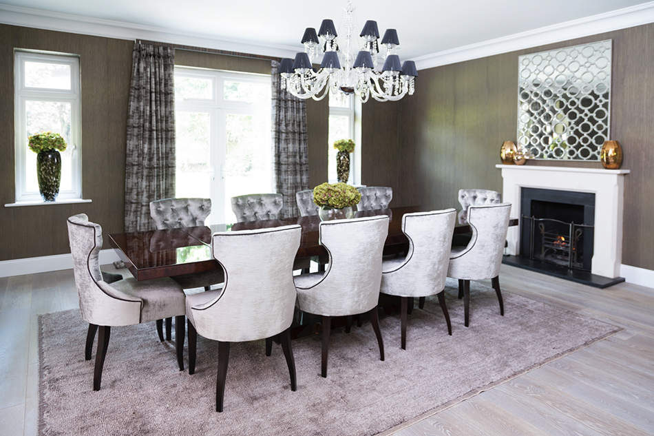 Gayton Manor dining room project by Roye Interiors (Exclusive Interview) exclusive interview Exclusive Interview with Roye Interiors Gayton Manor dining room project by Roye Interiors