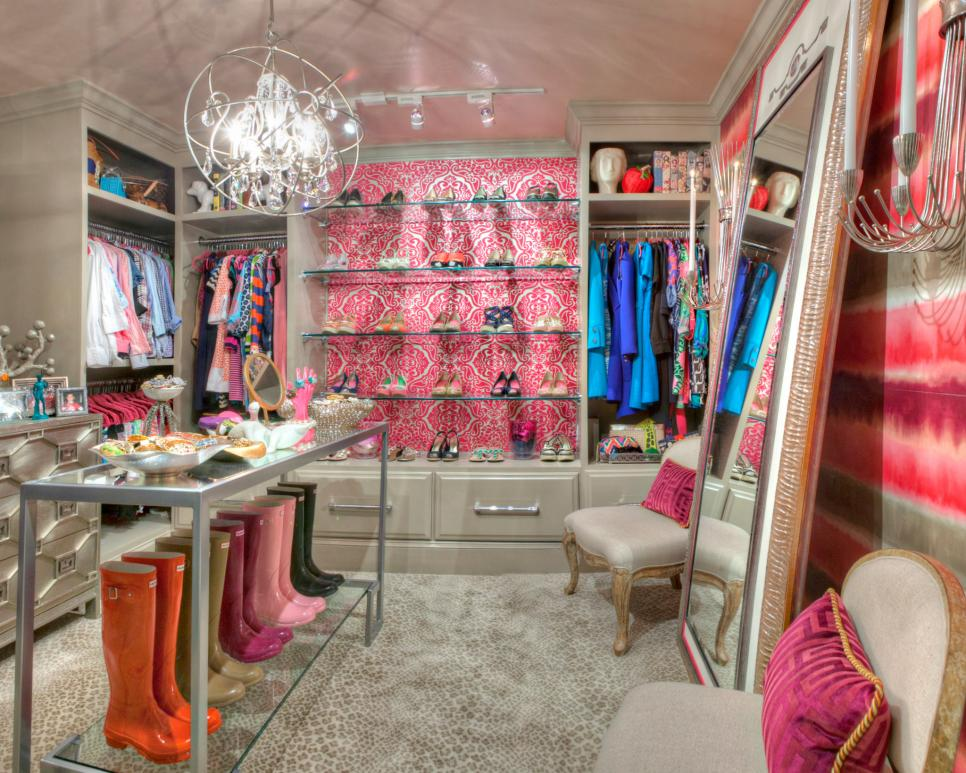 Nicole-Norris Pretty in Pink Luxury Closets luxury closets Interior Design for Woman: best luxury closets ever Nicole Norris Pretty in Pink Luxury Closets