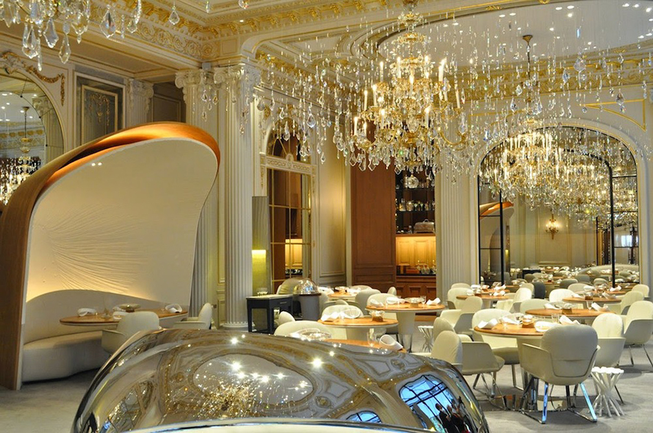 Best Restaurants Paris Alain Ducasse Plaza Athenee best restaurants L'Haute Cuisine: best restaurants you can't miss in Paris! Best Restaurants Paris Alain Ducasse Plaza Athenee 1
