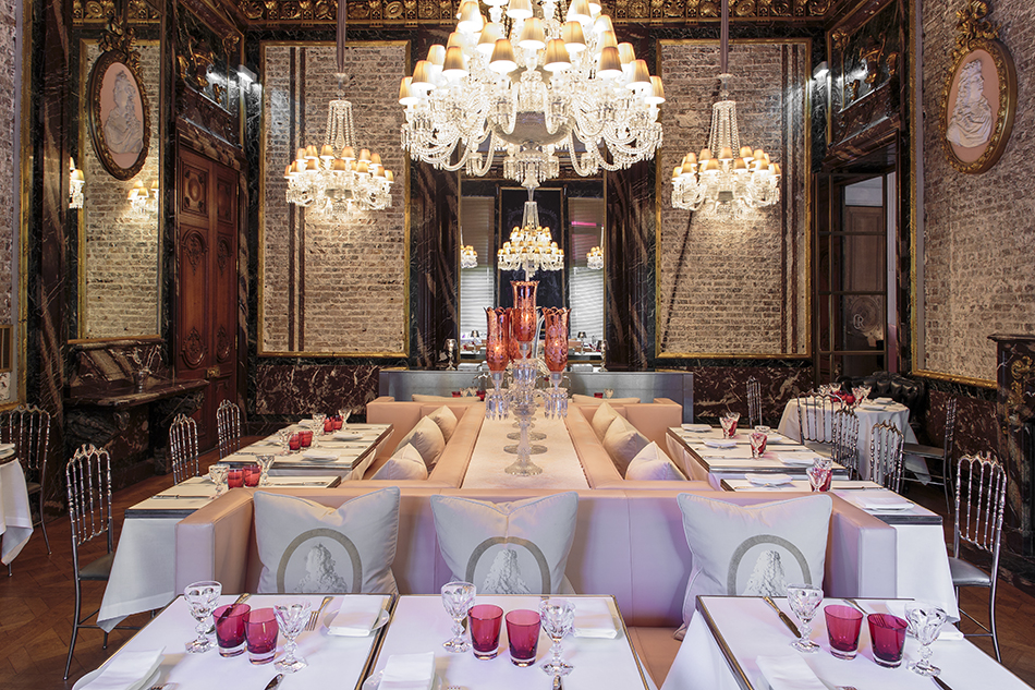 Best Restaurants Paris Cristal Room Baccarat best restaurants L'Haute Cuisine: best restaurants you can't miss in Paris! Best Restaurants Paris Cristal Room Baccarat 1