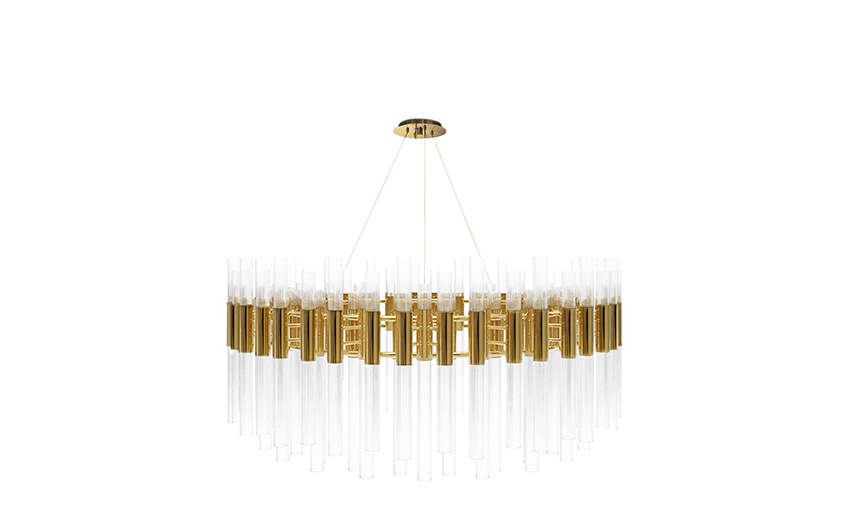 LUXXU's lighting design novelties Waterfall Suspension Round lighting design LUXXU's lighting design novelties for the luxury ambient LUXXU   s lighting design novelties Waterfall Suspension Round