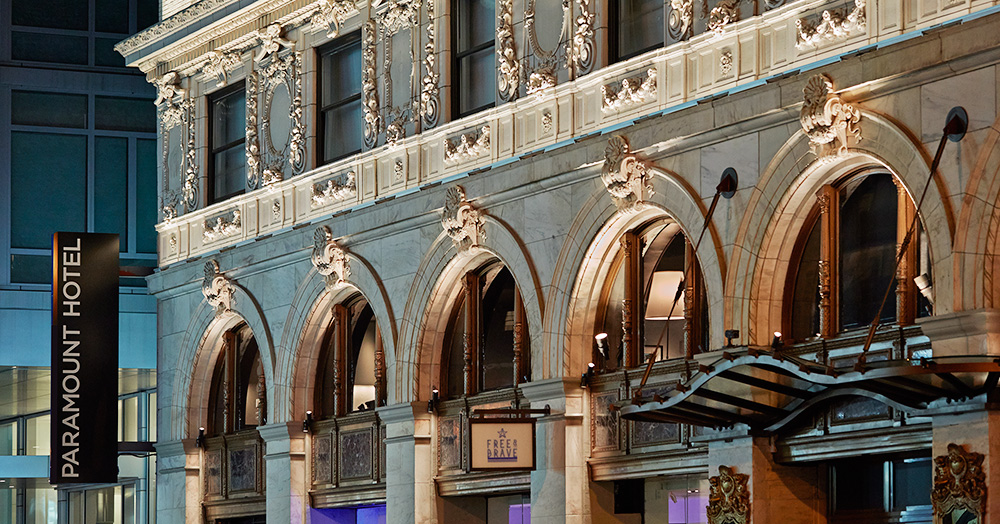 Luxury lifestyle: the Paramount Hotel in New York