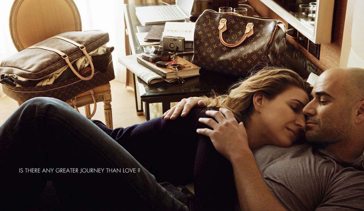 A famous brand, a famous monogram: Louis Vuitton