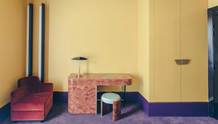 DIMORESTUDIO art deco Discover the Art Deco design of the Hotel Saint-Marc DIMORESTUDIO