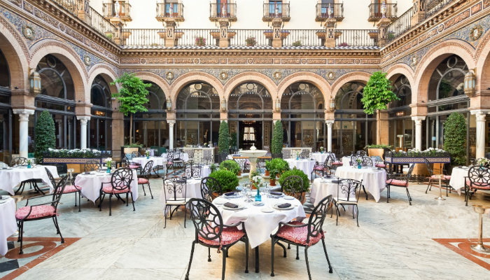 Hotel Alfonso XIII of Seville was renovated - Luxury Collection Hotel iconic hotel Hotel Alfonso XIII: The most Iconic Hotel of Seville was renovated Hotel Alfonso XIII of Seville was renovated Luxury Collection Hotel