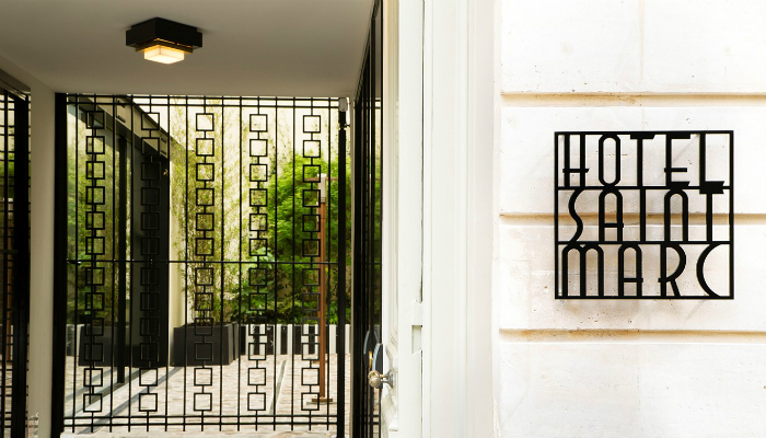 Discover the Art Deco design of the Hotel Saint-Marc