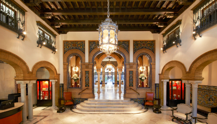 Luxury Hotel Seville iconic hotel Hotel Alfonso XIII: The most Iconic Hotel of Seville was renovated Luxury Hotel Seville