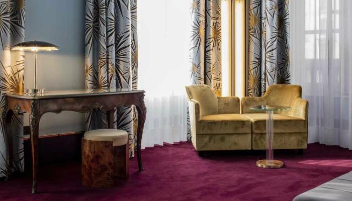 luxury art deco Discover the Art Deco design of the Hotel Saint-Marc Luxury