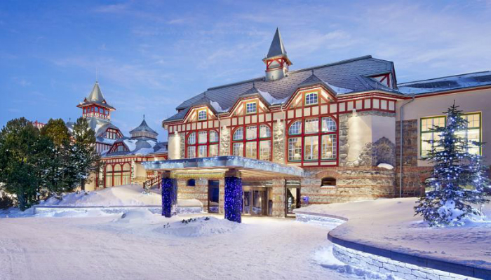The Grand Hotel Kempinski turns winter holidays into living fairy tale