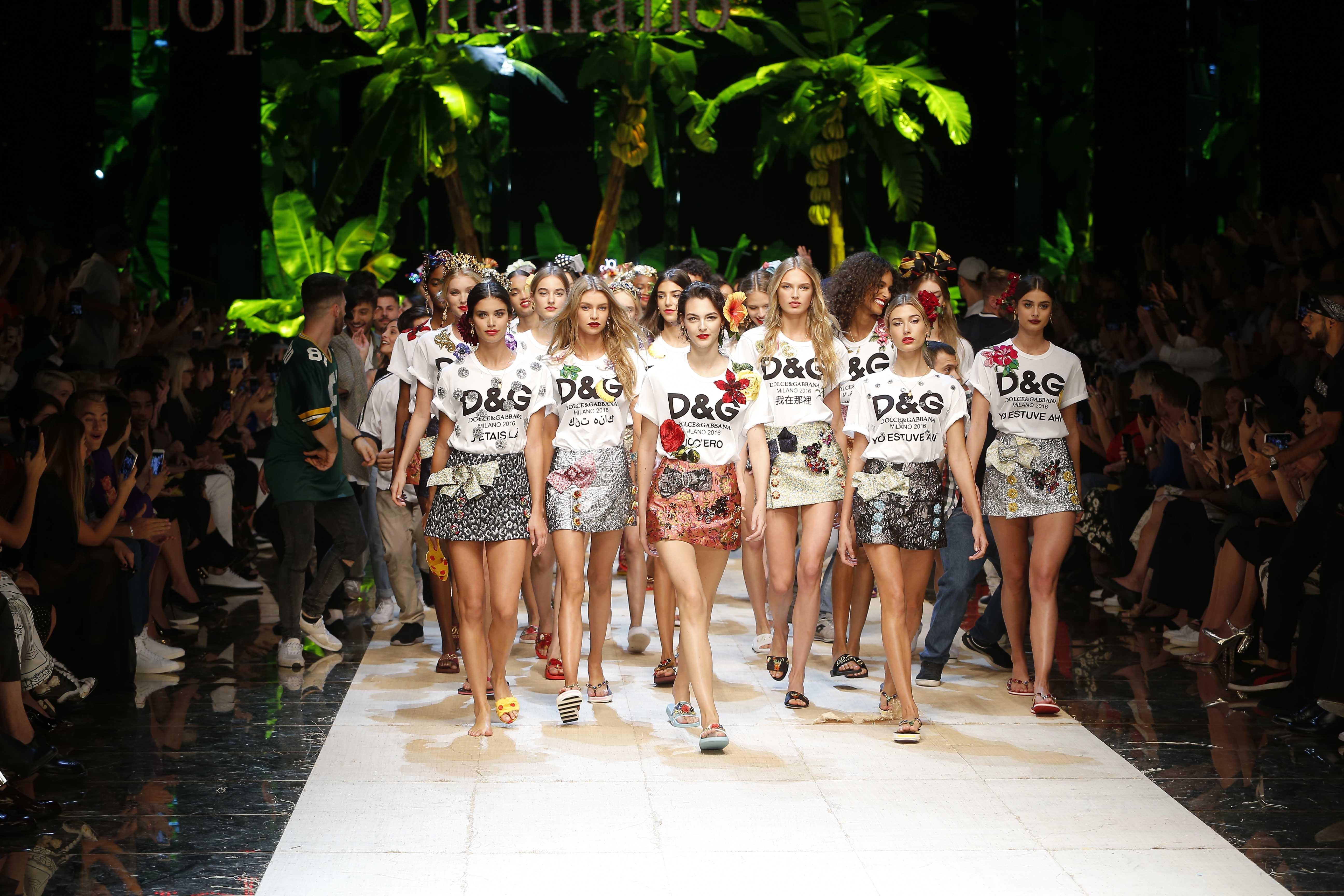 Dolce Gabbana uses Fake Logos as Inspiration for new Iconic Tees