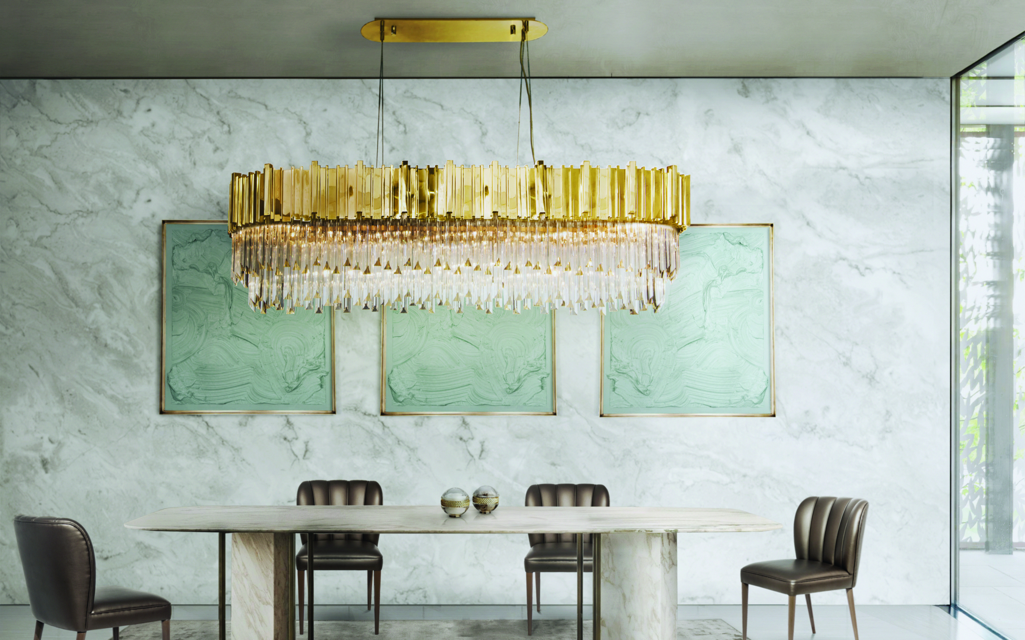 How to Place the perfect Dining Room Chandelier