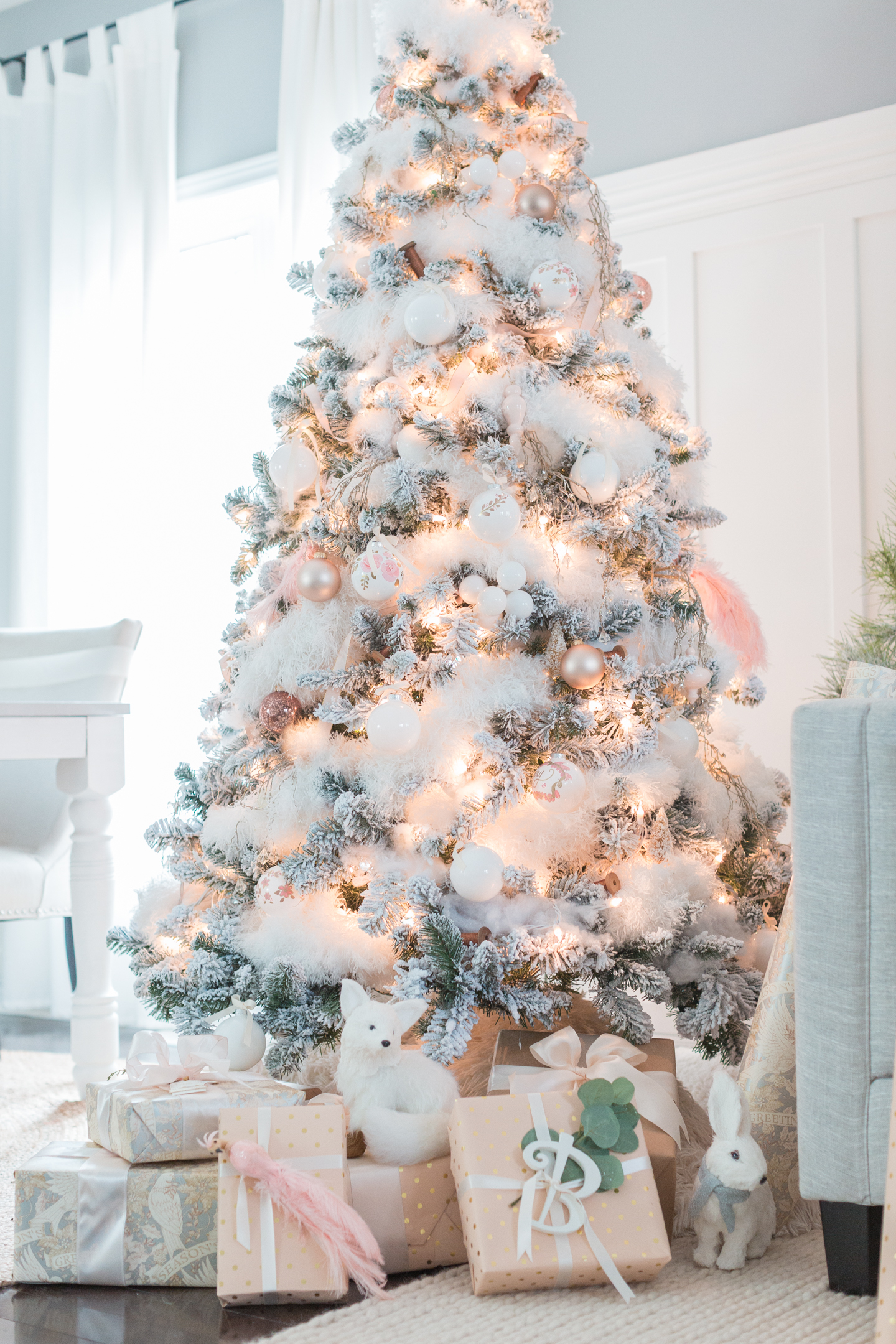 Luxury christmas decorations you should be using for Decoration rose gold