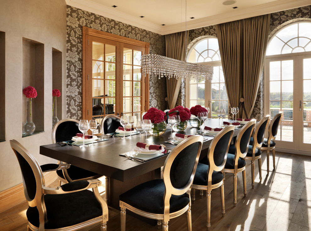 Luxury dining room ideas for new years eve you don 39 t want for Dining designs pictures