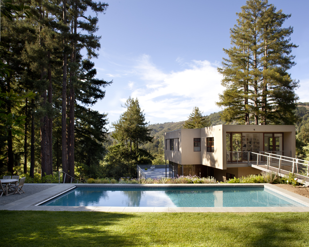Top 10 incredible modern houses in the united states for Modern houses in california