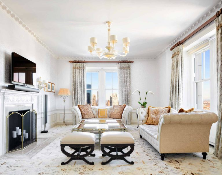 New York City Luxury Lifestyle new york city New York City Luxury Lifestyle Take a Peek Inside the Most Expensive Rental Apartment in New York City 01 1 768x607