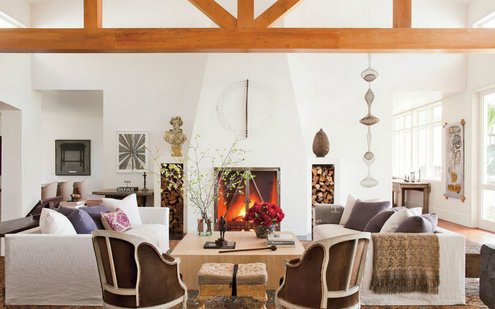 Celebrity Homes: 10 Stunning Living Rooms