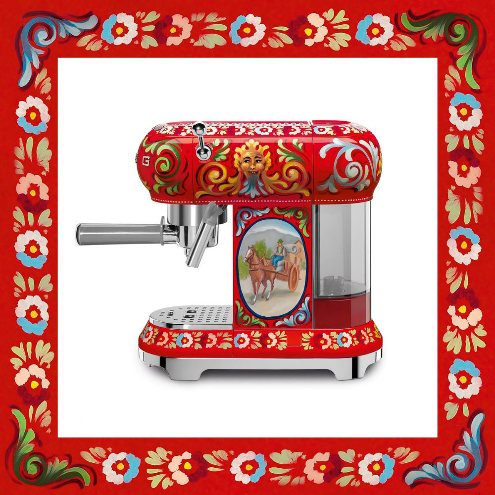 Dolce amp Gabbana X Smeg Release Luxury Kitchen Appliances