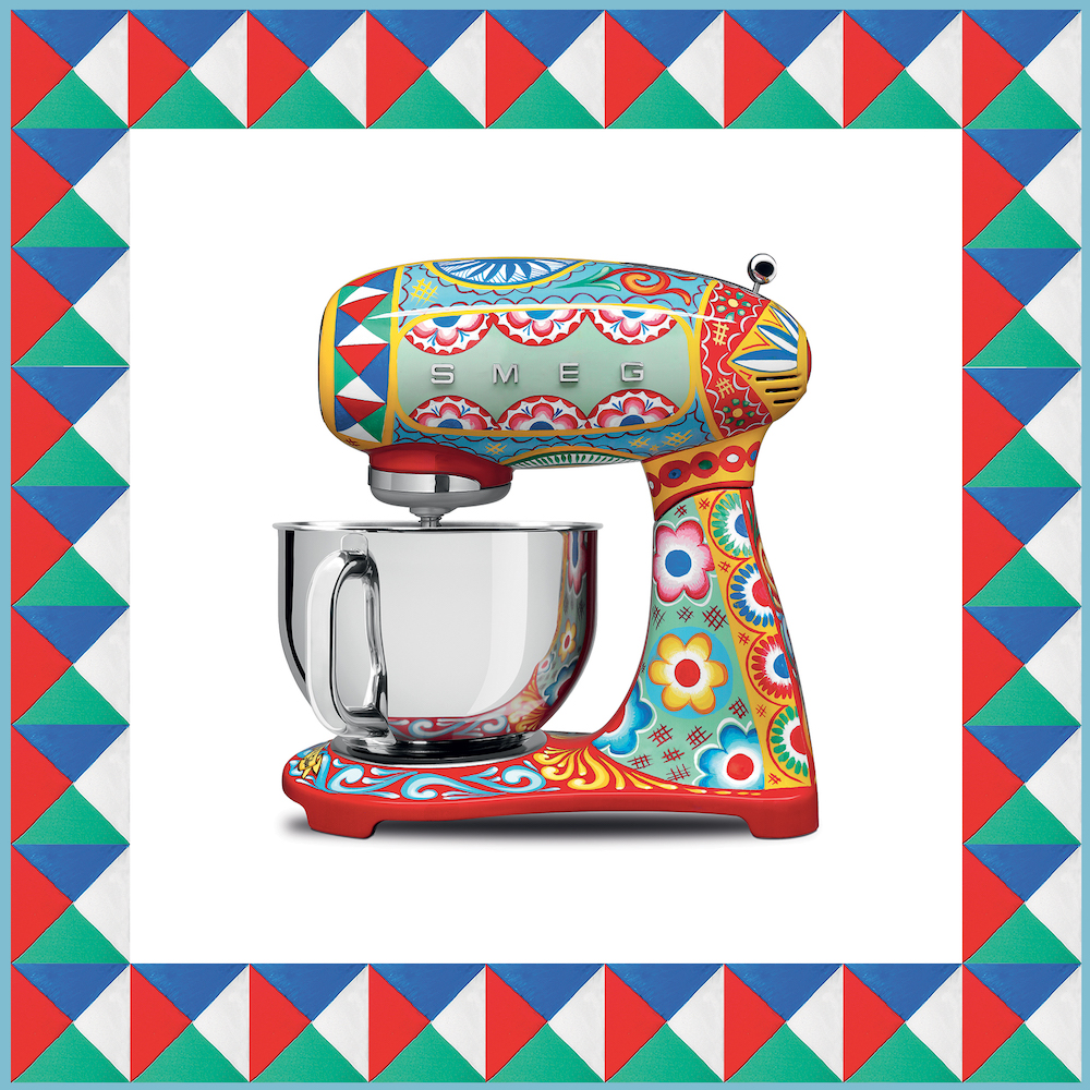 Dolce & Gabbana x SMEG Release Luxury Kitchen Appliances