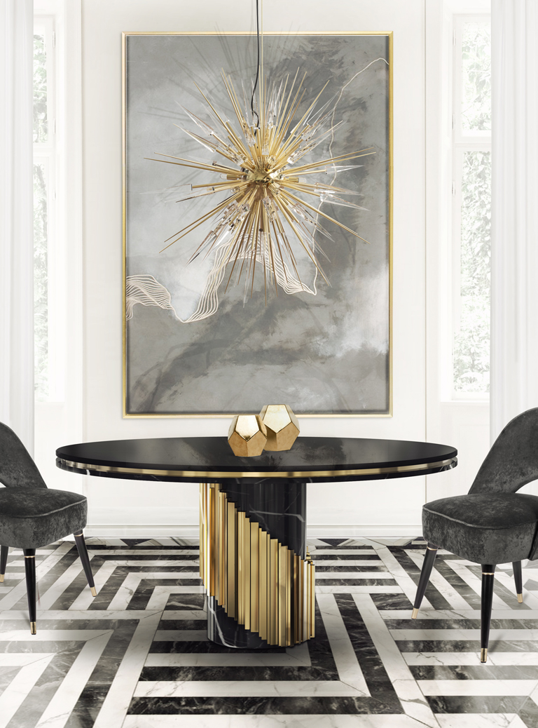 Get to know luxxu 39 s newest luxury furniture designs for Luxury dining room decor