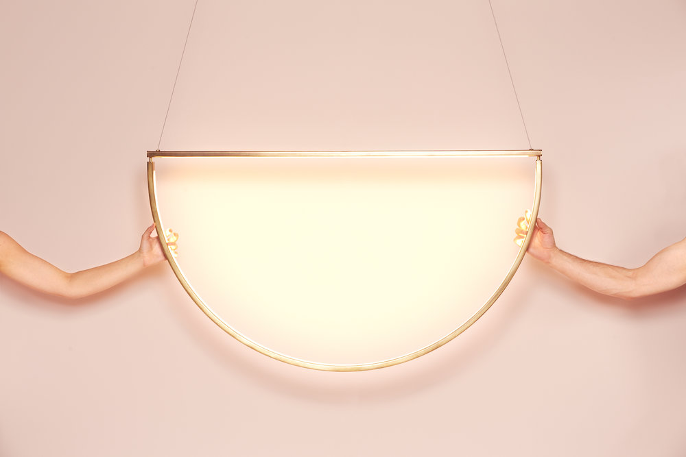 alex allen studio Light Fixture by Alex Allen Studio Inspired by Minimalist Jewelry Light Fixture by AlexAllen Studio Inspired by Minimalist Jewellery 2