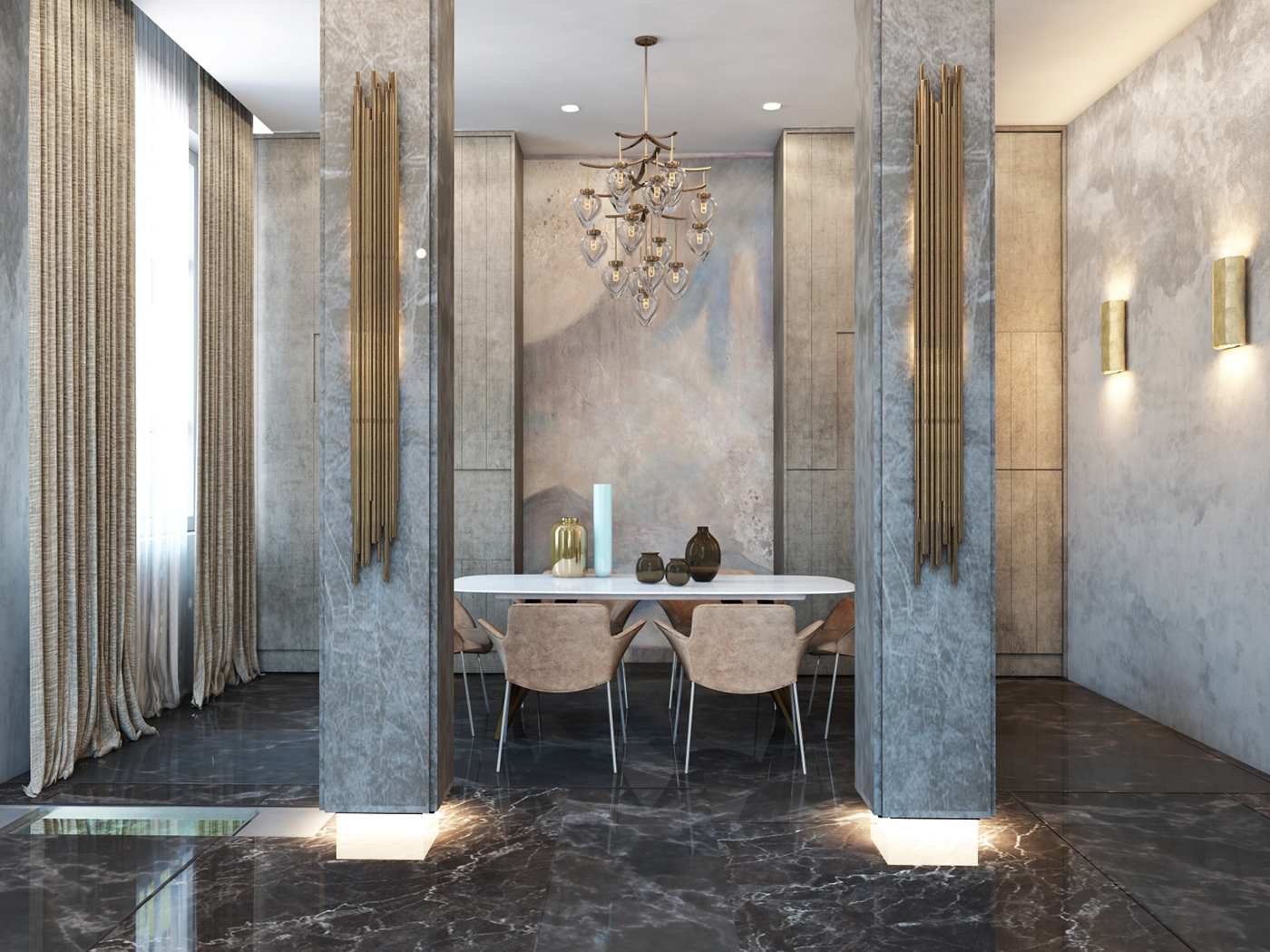 Rosko Design Newest Project Features Traditional Yet Modern Interior