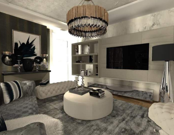 Interior Design Project by Sonja Jovanovic Includes Distinguished Lighting sonja jovanovic Interior Design Project by Sonja Jovanovic Includes Elegant Lighting Interior Design Project by Sonja Javonic Includes Distinguished Lighting 2
