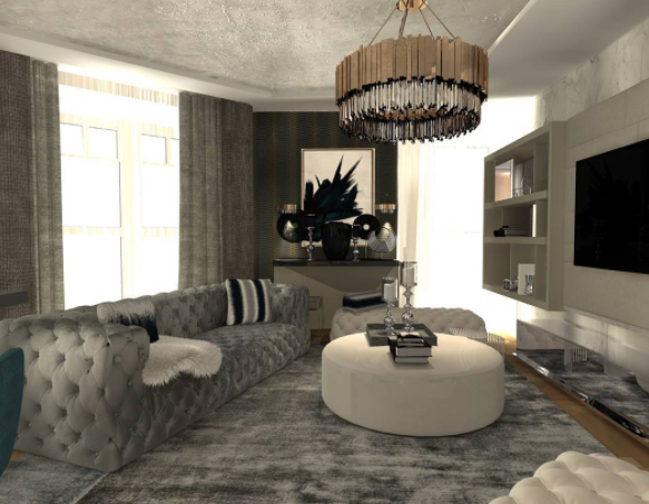 Interior Design Project by Sonja Jovanovic Includes Distinguished Lighting sonja jovanovic Interior Design Project by Sonja Jovanovic Includes Elegant Lighting Interior Design Project by Sonja Javonic Includes Distinguished Lighting