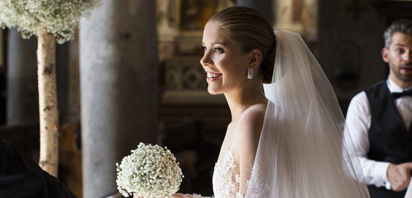 Viktoria Swarovski Got Married in a Gown Covered in Swarovski Crystals 02