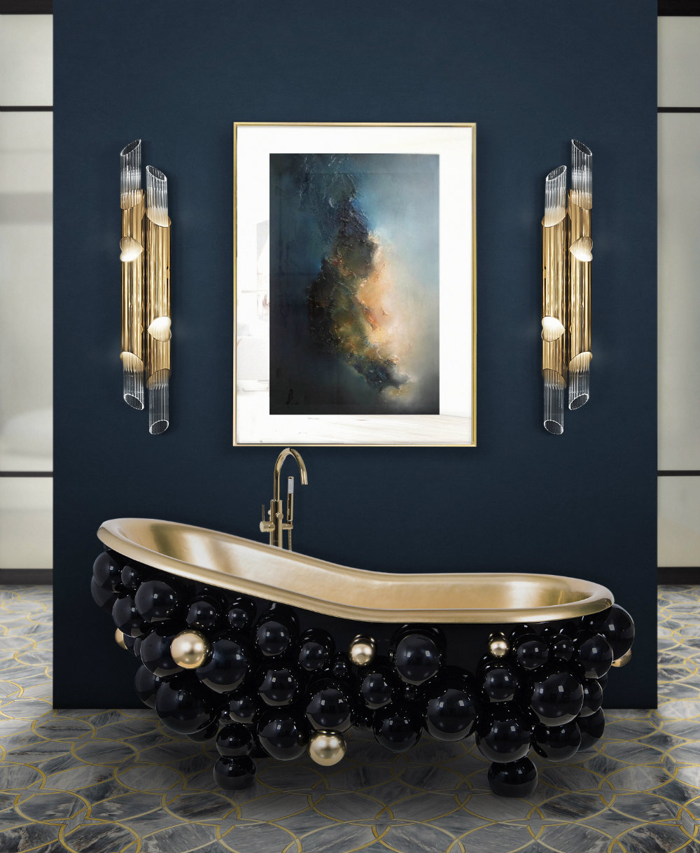 Luxury bathrooms for Cool bathroom decor