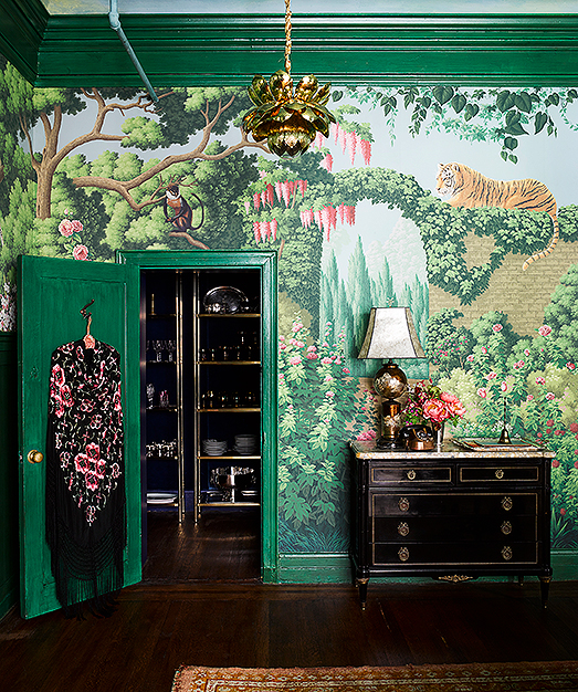 Interior Design Project by de Gournay and Ken Fulk Features Exotic Patterns ken fulk Interior Design Project by Ken Fulk Features Exotic Patterns Interior Design Project by de Gournay and Ken Fulk Features Exotic Patterns 2