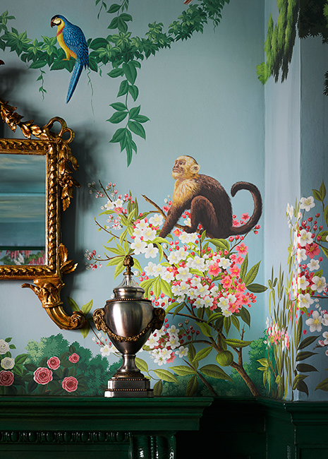 ken fulk Interior Design Project by Ken Fulk Features Exotic Patterns Interior Design Project by de Gournay and Ken Fulk Features Exotic Patterns 3