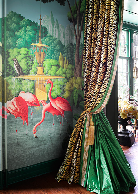 ken fulk Interior Design Project by Ken Fulk Features Exotic Patterns Interior Design Project by de Gournay and Ken Fulk Features Exotic Patterns 4