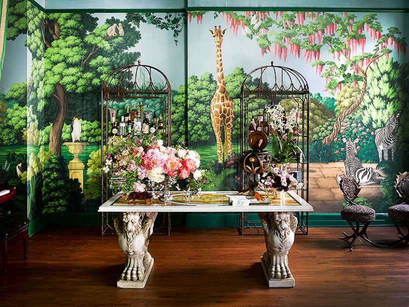 Interior Design Project by de Gournay and Ken Fulk Features Exotic Patterns ken fulk Interior Design Project by Ken Fulk Features Exotic Patterns Interior Design Project by de Gournay and Ken Fulk Features Exotic Patterns 5