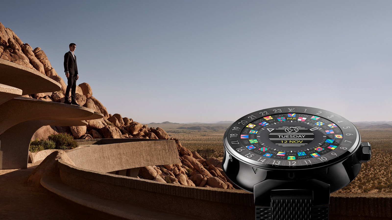 Louis Vuitton Launches Its First Luxury Smartwatch: Tambour Horizon