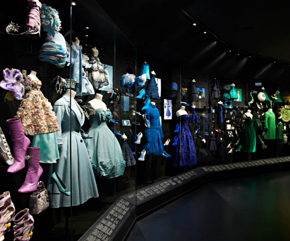 Luxury Brand Christian Dior Exhibits At Muse Des Arts